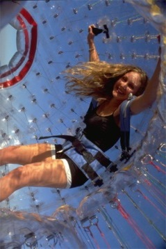 Zorbing Family Vacation Adventures with Teens in Pigeon Forge, TN