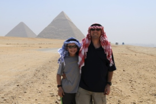 Thomson Family Adventures Pyramids in Cairo