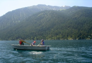 Wallowa Lake Oregon Boating