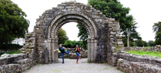 Clonmacnoise World Heritage Site Monastery Archway