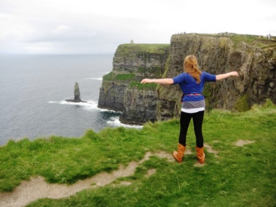 Cliffs of Moher Synergy of Natual Powers