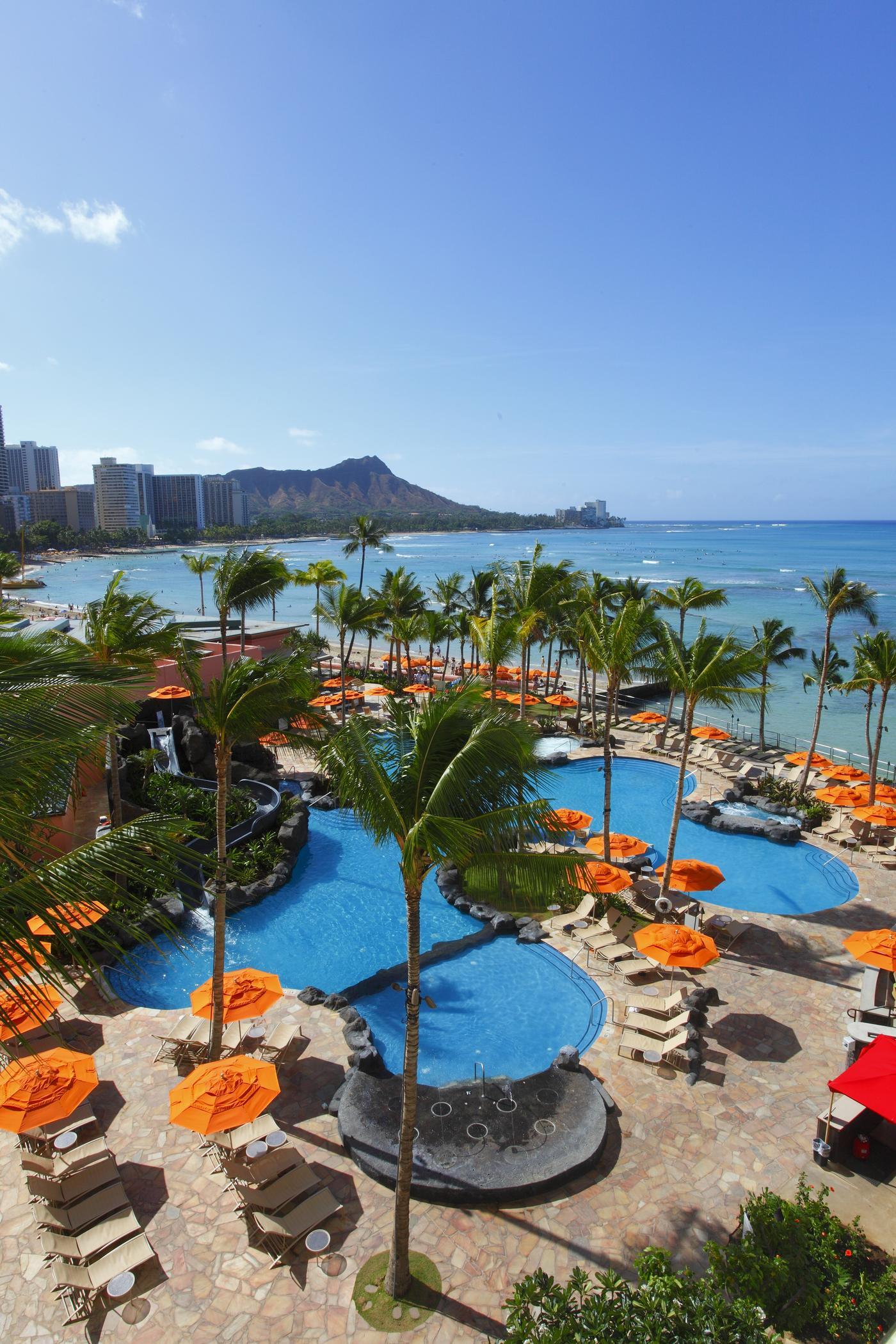 Waikiki Sheraton Helumoa Beach Playground
