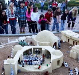 Star Wars Miniland at Legoland in California