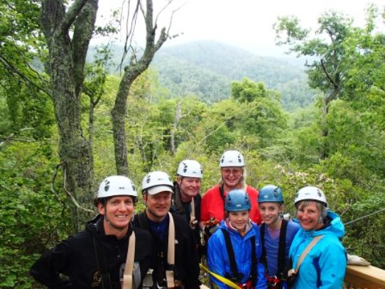 Sky Valley Zipline Experience for Families, Boone NC