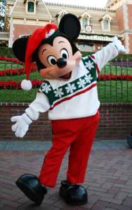 Disneyland California Mickey Mouse Christams