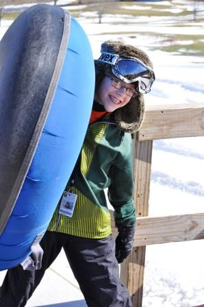Boonne Snow Tubing Family Fun at Sugar Mountain