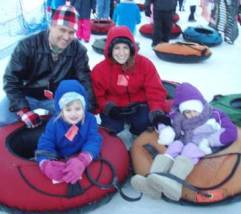 Southern West Virginia Snow Tubing