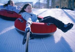 Snow tubing in woodbury ct