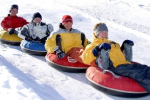 Boone North Carolinia Snow Tubing