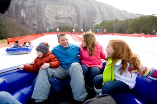 Stone Mountain, Georgia Snow Tubing