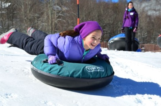 Sugar Mountain North Carolina Snow Tubing