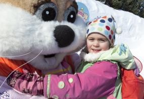 Winterlude in Ottawa with Snow Hugs