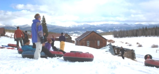 YMAC of the Rockies Snow Tubing with Kids