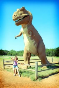 Dinosaur Valley State Park in Glen Rose Texas