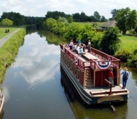 Eire Canal Boat Ride, Oneida County, New York