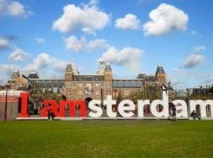 Amsterdam City Sign