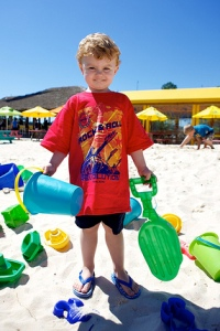 Lulu's Beach Bar Toddler Sand Play Gulf Shores, Alabama