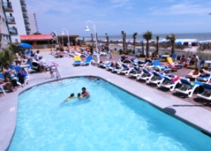 Paradise Resort Myrtle Beach SC Pool Area