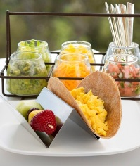 Hyatt Healthy Taco Breakfast