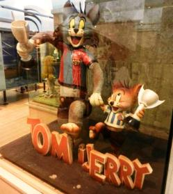 Shopping in Barcelona for Tom & Jerry