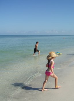 Gulf of Mexico Summer Beach Day Sunscreen Needed