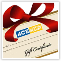 ACE Adventure Resort Family Travel Gift Certificate