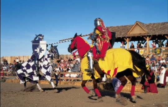 Arizona Renaissance Festival Jousting Tournament