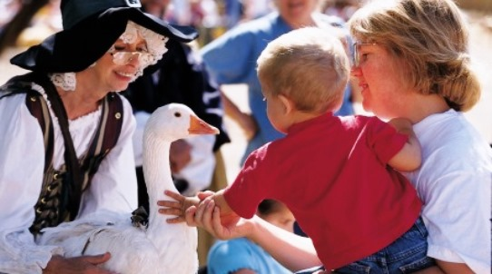 Arizona Renaissance Festival Mother Goose Encounter