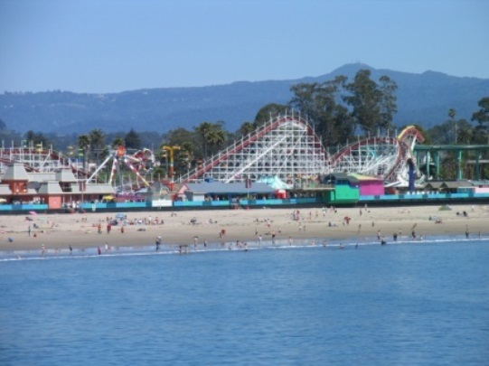 Santa Cruz Boardwalk Dipper Thrills and Sea Views