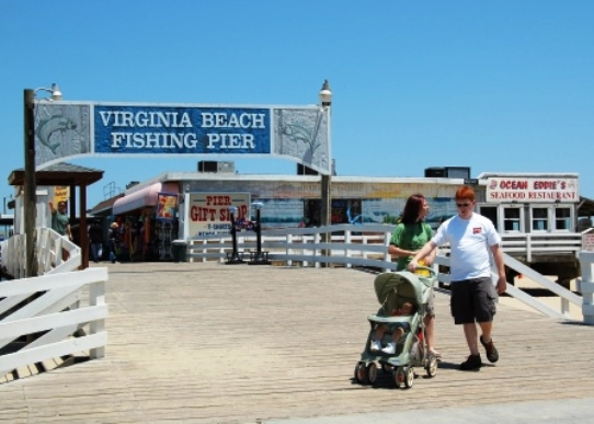 Virginia Beach Boardwalk Fishing Pier