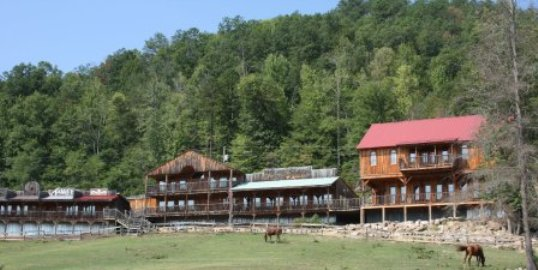 French Broad River Ranch Lodge in Tennessee