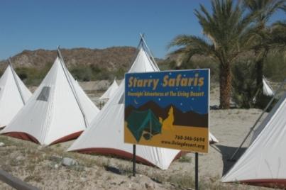 Palm Springs Living Desert Offers Star Safari Overnight Adventures.