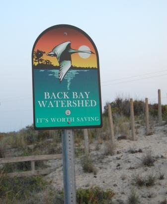 Back Bay Watershed Entrance Virginia Beach