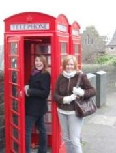 Phone Booth in Briatin Family Travel Files