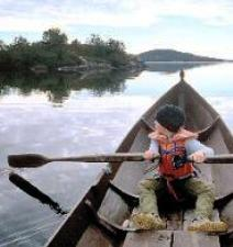 Finland Child Rowning on a Lake