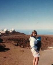 Haleakela Crater on Maui with Baby