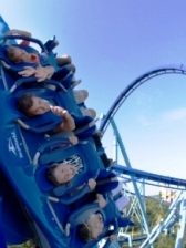 Sea World Florida Dive Deep Roller Coaster