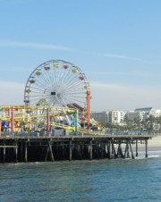 Santa Monica, California Ferris Wheel at The Beach
